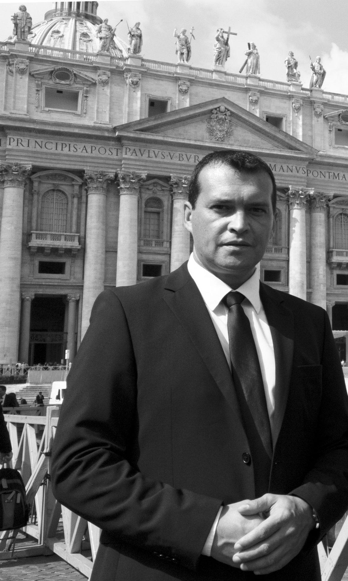 Martial Mutte visite au Vatican