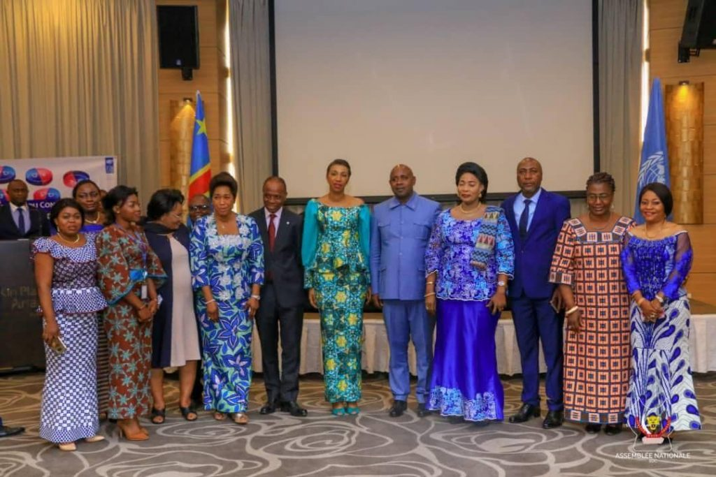 congo dialogue parlementaire initie par jeanine mabunda lioko